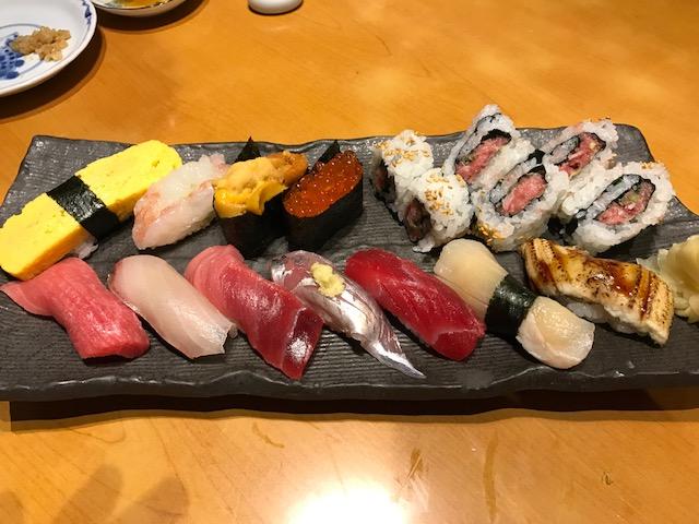 店長のおまかせ寿司